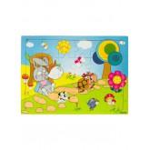 * 24 Parça Karton Çocuk Puzzle