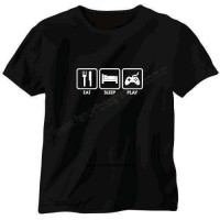 Play Tişört Ye Uyu Oyna / Eat Sleep Play T-shirt