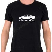 Anadol 16 A8 Baskılı Tişört Siluet Tasarım