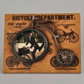 Dekoratif Fotoğraf Çerçevesi Bisiklet